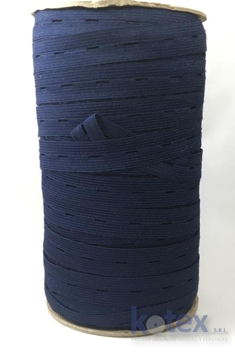 elastico 20mm ojal azul marino
