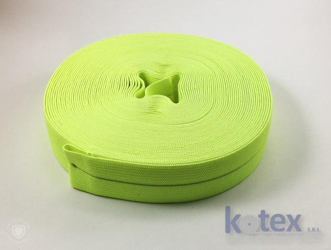 elastico partido amarillo fluo